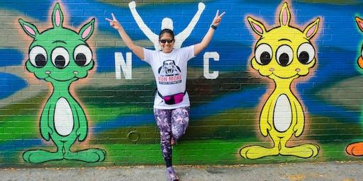 Runstreet NYC Marathon Shakeout Art Run
