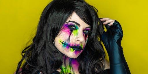 """""""Creeptober"""" Halloween Makeup Class with Nikki Carmela"""