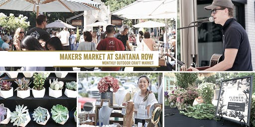 Makers Market in the Park - Santana Row! | A Monthly Craft Fair with DIYs!