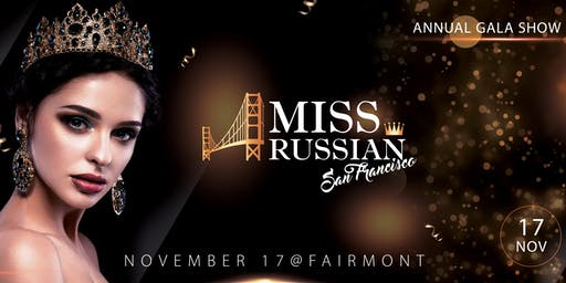 Miss Russian San Francisco-2019