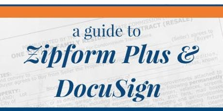 A Guide to zipForm Plus and DocuSign – Keller Williams - Fort Worth tickets