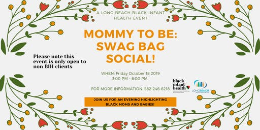 Mommy To Be: Swag Bag Social