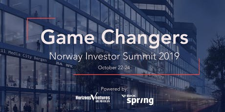 Game Changers: Norway Investor Summit 2019 tickets