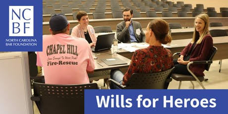 Wills for Heroes Clinic with Wake County Bar Association: Sign up to Volunteer tickets