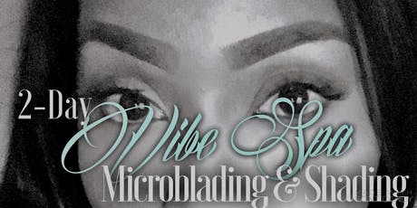 2-Day MICROBLADING & SHADING TRAINING by Vibe Spa ($1800) tickets