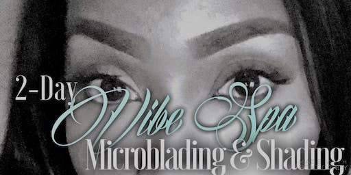 2-Day MICROBLADING & SHADING TRAINING by Vibe Spa ($1800)