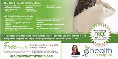 Thyroid & Autoimmune Options Workshop - Community Impact News tickets
