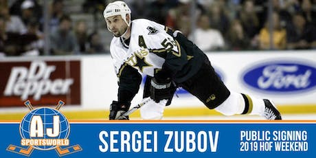 Sergei Zubov In Store  Signing tickets