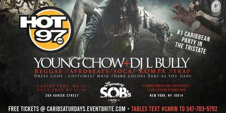 Halloween Party @ SOB's #GQevent tickets