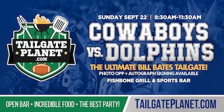Eddie Dean's Tailgate – Cowboys vs. Dolphins tickets