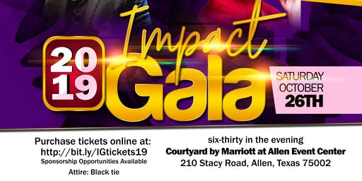 2019 IMPACT Awards Dinner & Gala