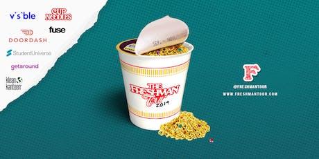 The Freshman Tour Pop Up & Concert: Doordash, Cup Noodles, Visible, Fuse TV tickets