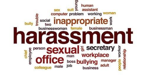 Business Development Workshop Series - 2019 Mandatory Sexual Harassment Training