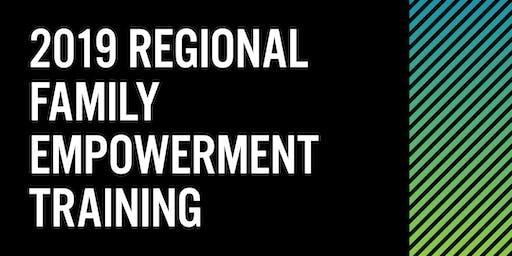 2019 Regional Family Empowerment Training