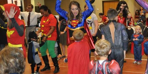 Mother-Son Superhero Dance