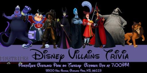 Disney Villains Trivia at Pinstripes Overland Park