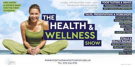 The Health & Wellness Show November 2019 tickets