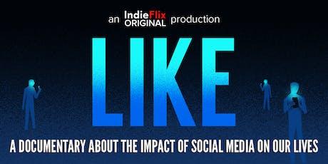 "Movie Screening of ""Like"" Followed by Open Conversation tickets"