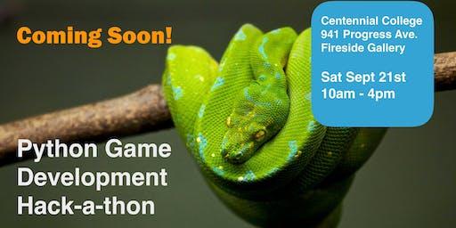 Python Gaming Hackathon