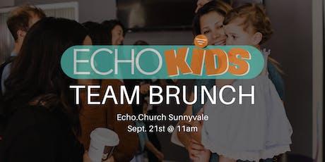 EchoKids Sunnyvale Team Brunch tickets