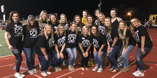 McAlester Pom Alumni Reunion during Homecoming