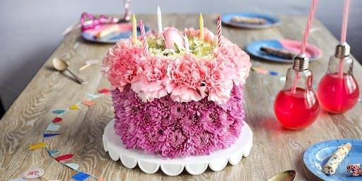 DIY Floral Cake Class!