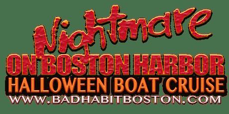 Nightmare On Boston Harbor 2019 - Halloween BOOze Cruise [Indoor/Outdoor] tickets