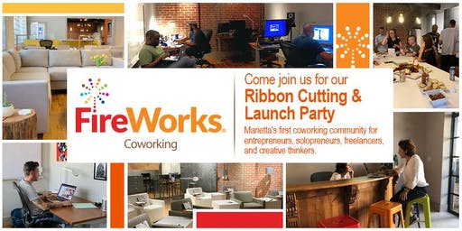 FireWorks Coworking Launch Party