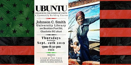 UBUNTU - Power of Unity - A Community Building Course tickets