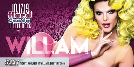 Hard Candy Little Rock with Willam tickets