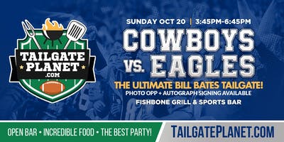 Eddie Dean's Tailgate – Cowboys vs. Eagles
