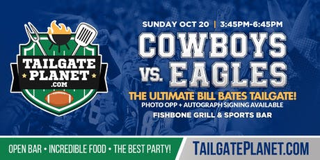 Eddie Dean's Tailgate – Cowboys vs. Eagles tickets