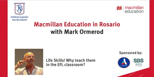 Macmillan Day in Rosario with Mark Ormerod