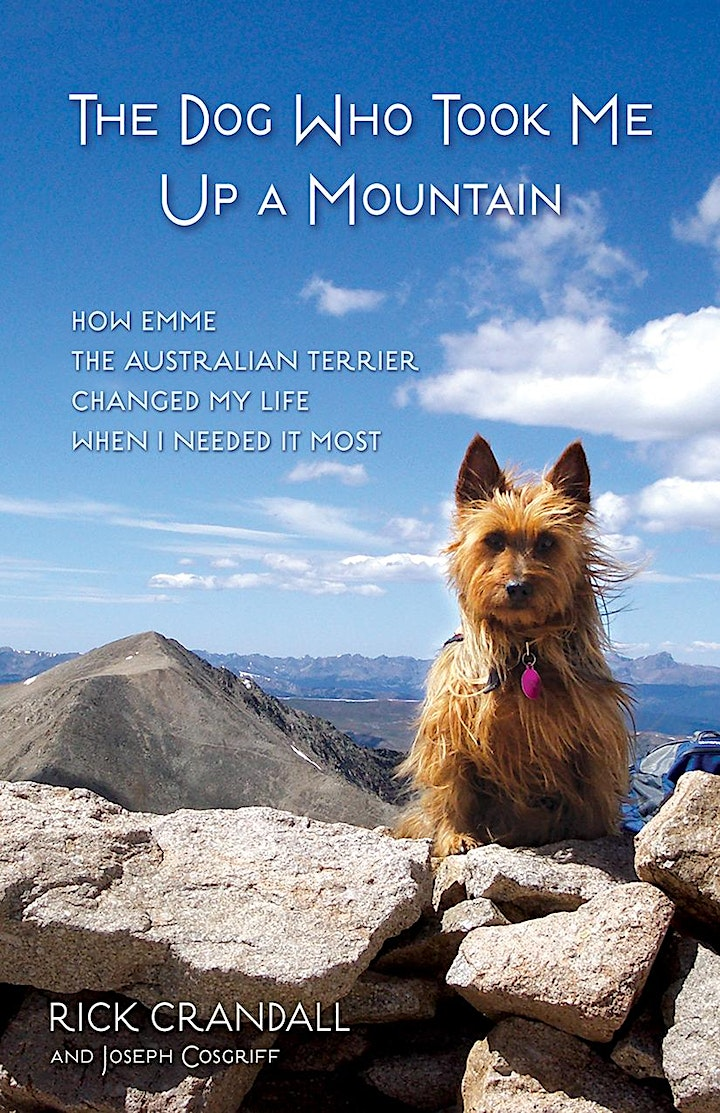 "Book Signing: Rick Crandall ""The Dog Who Took Me Up The Mountain"" image"