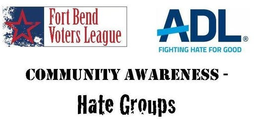 Community Workshop on Hate Groups