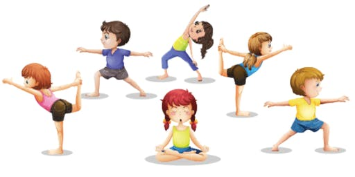 Kids Yoga Costume Party