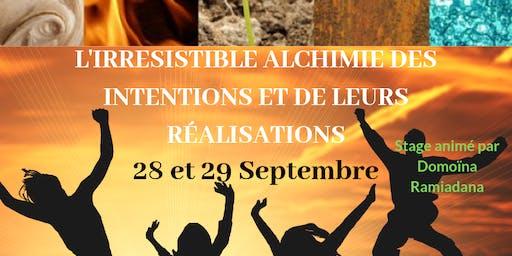 STAGE - L'Irrésistible Alchimie : Intentions et Réalisations