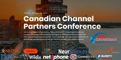 4th Annual Canadian Channel Partners Conference 2019 tickets