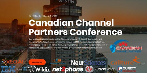 4th Annual Canadian Channel Partners Conference 2019