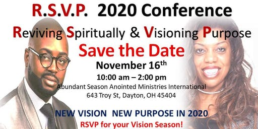 2020 New Vision New Year Conference FREE!