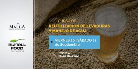 Reutilización de Levaduras y Manejo de Agua entradas