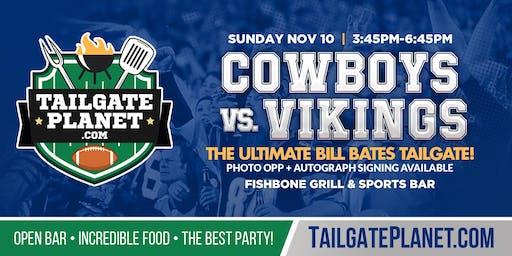 Eddie Dean's Tailgate – Cowboys vs. Vikings