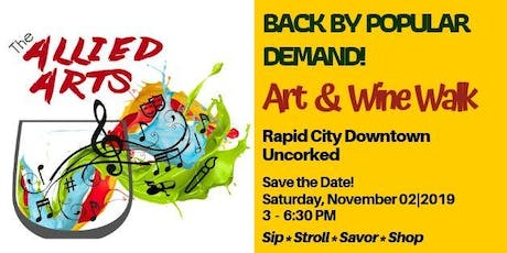 Allied Art's Art & Wine Walk tickets