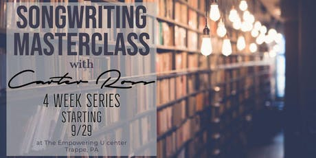 Songwriting Masterclass with Carter Ross tickets