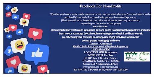 Facebook for Non-Profits