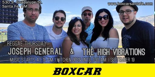 Reggae Thursday: Joseph General & High Vibration