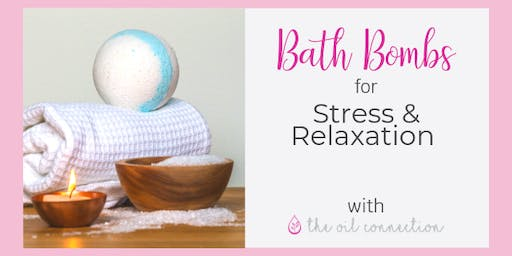 Bath Bombs For Stress and Relaxation