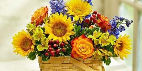Fall Blooming Basket DIY Class tickets