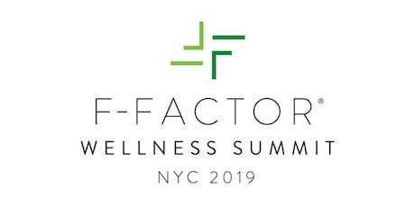 F-Factor Wellness Summit: NYC 2019 (11/9 & 11/10) tickets
