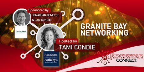 Free Granite Bay Rockstar Connect Networking Event (September, near Sacramento) tickets